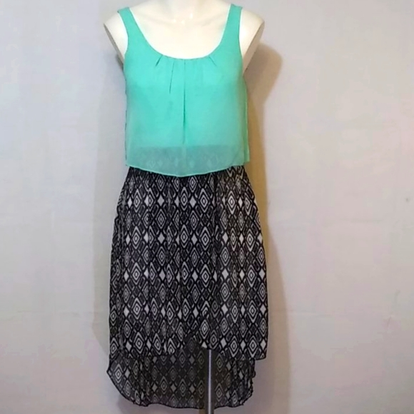 Forever 21 Sheer Dress Size Small